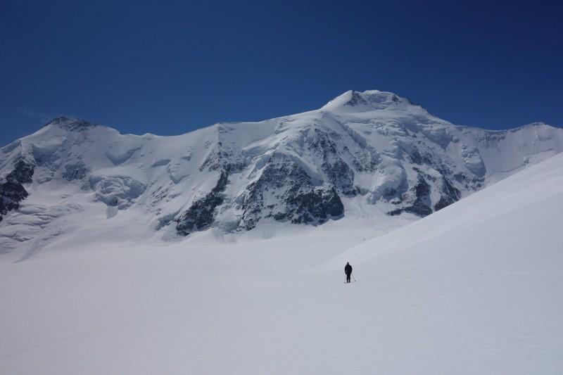 Im Banne des Aletschhorns.