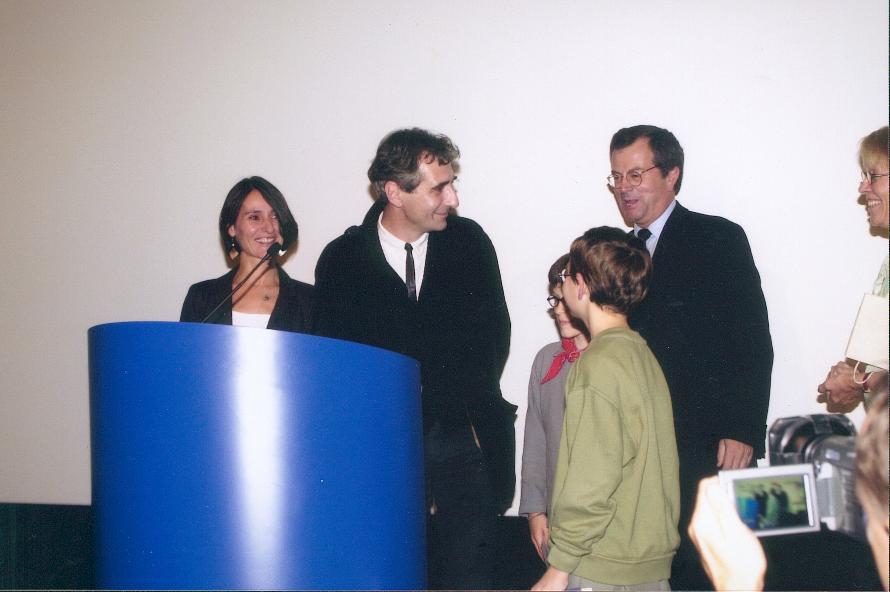 Remise du prix France Télévision 2002