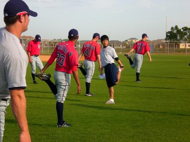 MLBインターンinフロリダ(2008)