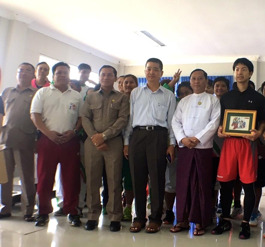 ミャンマー政府より表彰いただきました(2016)
