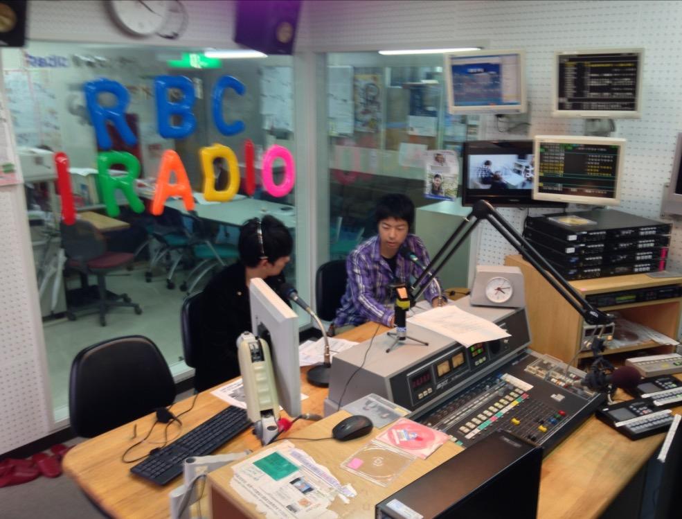 RBCiラジオ「スポーツフォーカル」出演(2013)