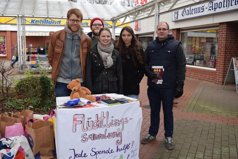 Auch die Hamburger Sozialsenatorin, Melanie Leonhard, hat uns besucht.