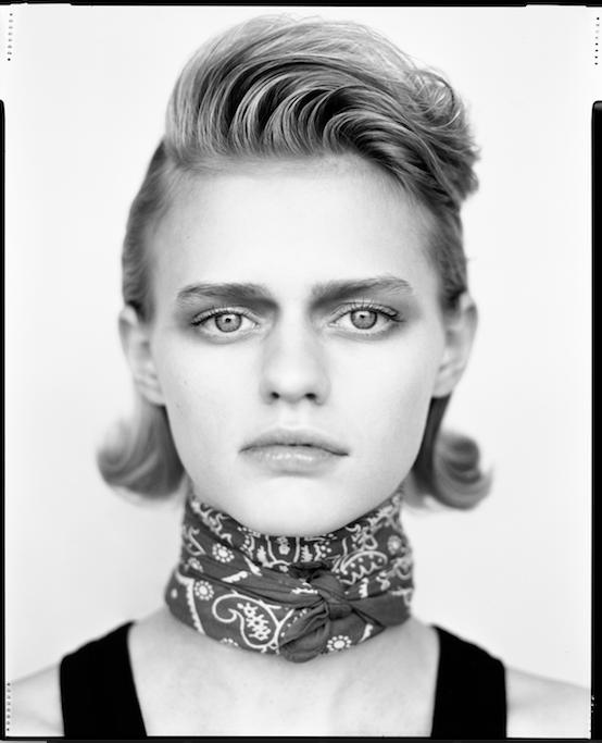 Photographer : Mathieu Rainaud / Make up : Amelie Moutia / Stylist : Daria DiGennaro / Model : Thirza Meinders