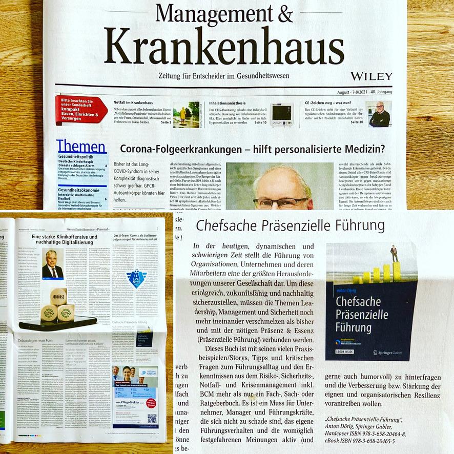 """Buch-Empfehlung """"Chefsache Präsenzielle Führung"""""""