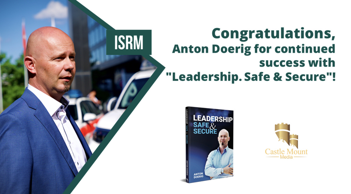 "International recognition for Anton Doerig and his book ""Leadership. Safe & Secure."""