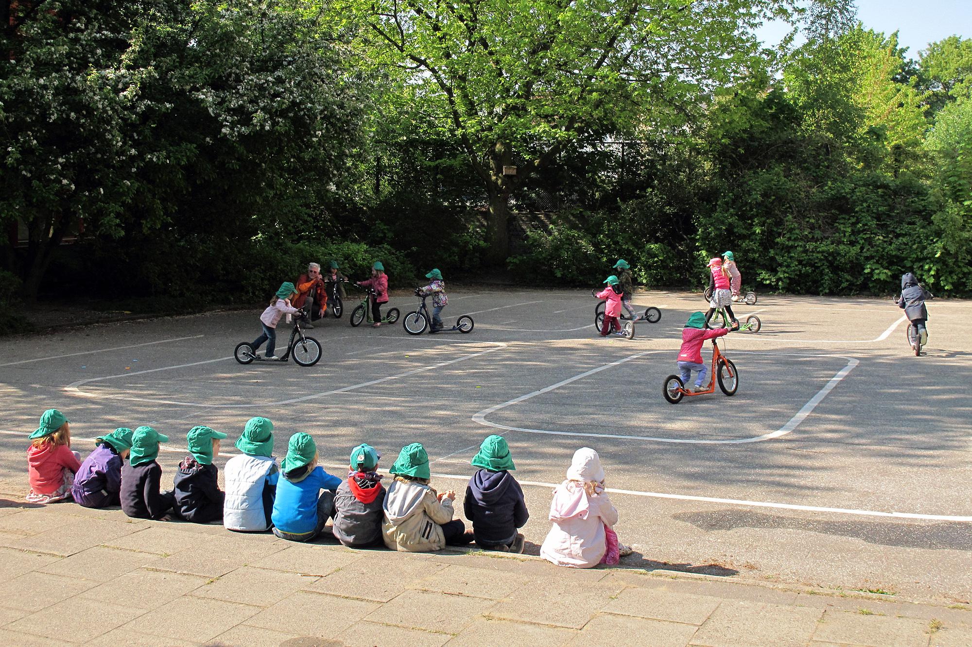 sicher und souverän auf zwei Rädern mit Kindern - Foto Christian Burmeister