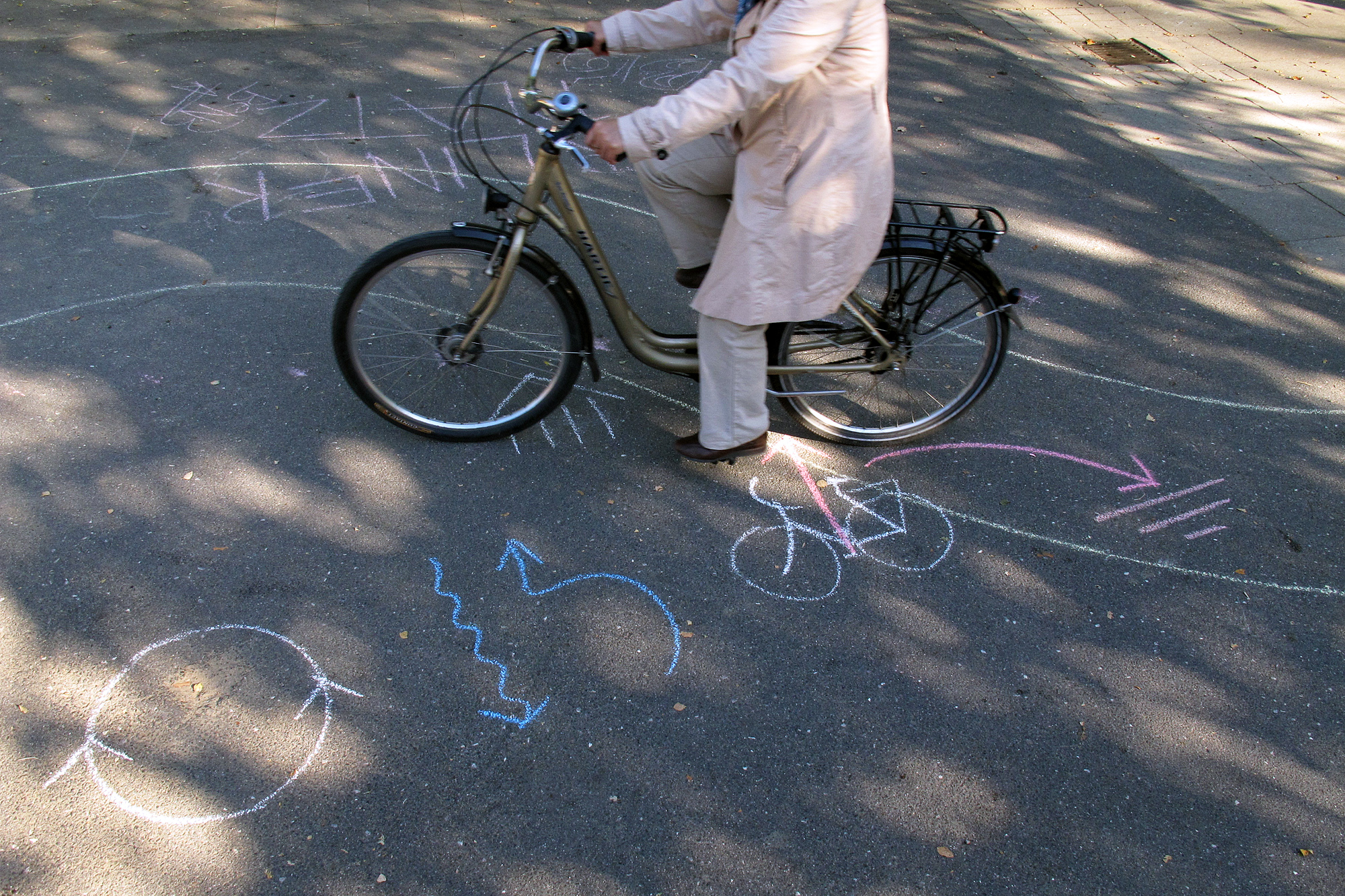 Teilnehmerin auf dem Platz - Foto Christian Burmeister
