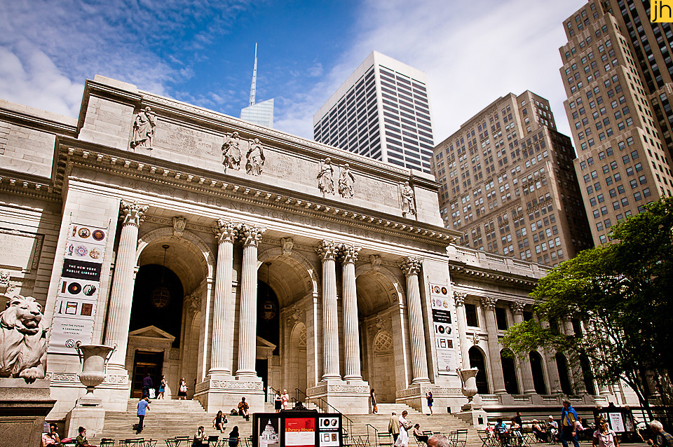 USA, New York City, Public Library - © JOANNA HAAG