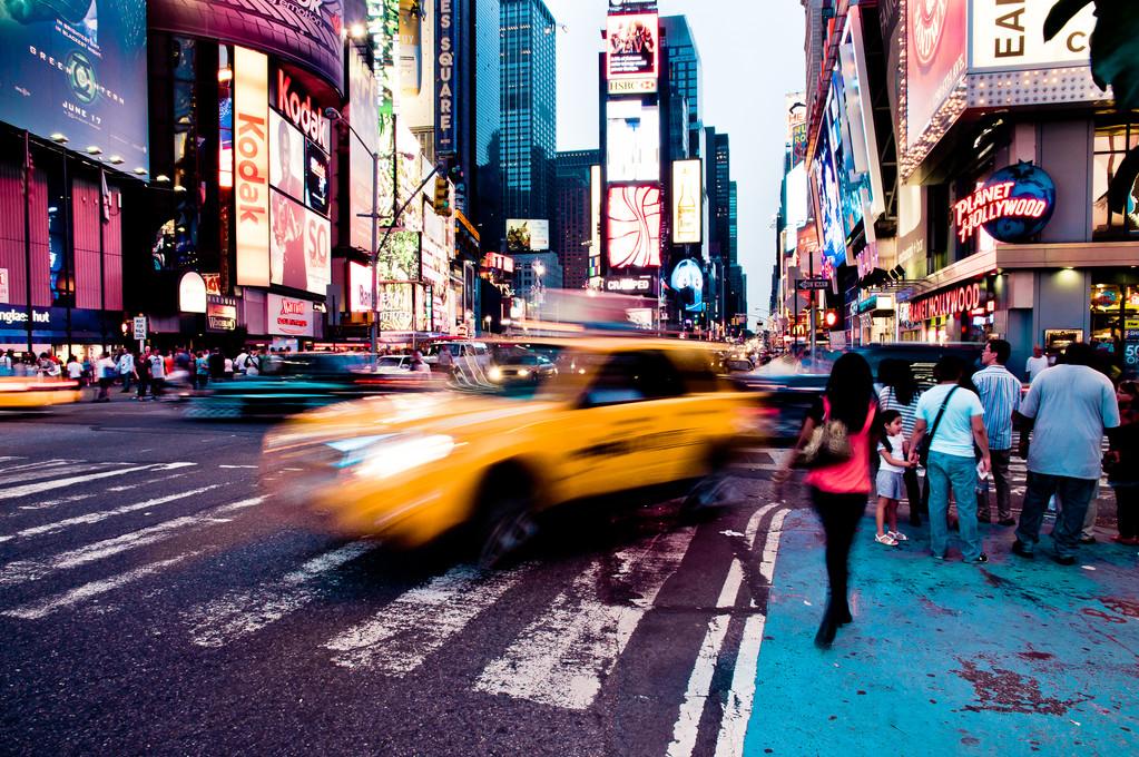 USA, New York City, Times Square - © JOANNA HAAG