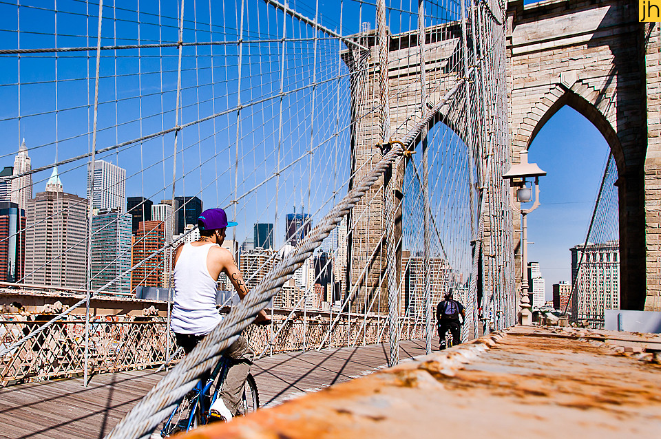 USA, New York City, Brooklyn Bridge - © JOANNA HAAG
