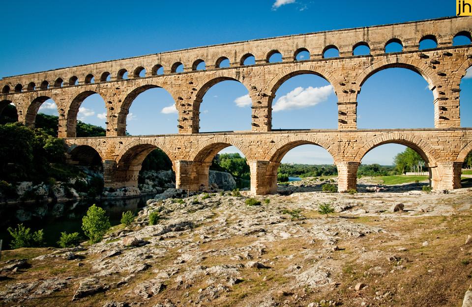 Frankreich, Pont du Gard - © JOANNA HAAG