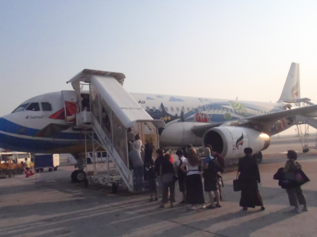 カンボジア・シェムリアップ(アンコールワットの街)到着