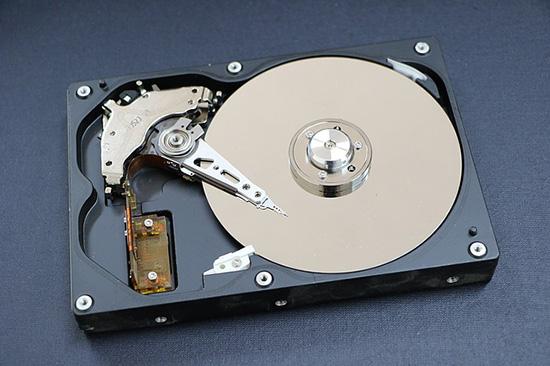 パソコンのハードディスク