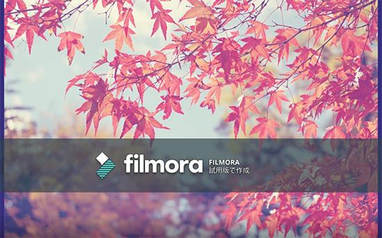 Filmora無料版の制約