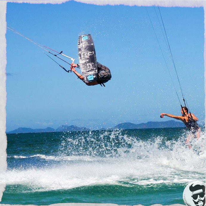 Go Kiteboarding in Sibaltan