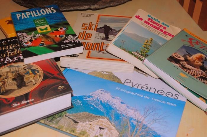 Gîte l'Hospitalité Les livres  Andorre-Pyrénées