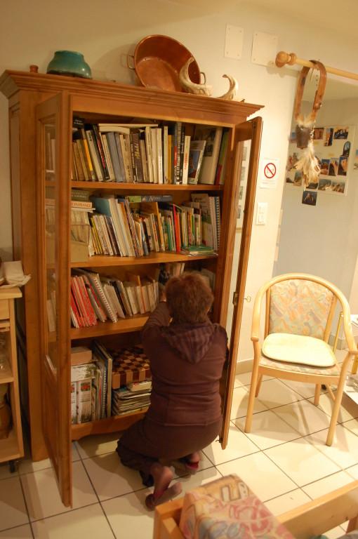 Gîte l'Hospitalité La bibliothèque  Andorre-Pyrénées