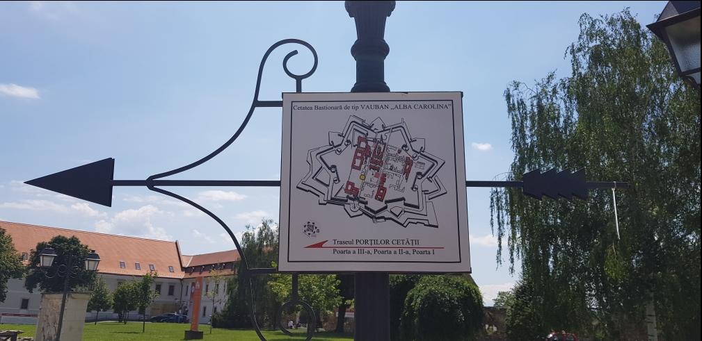 Die Festung Alba Iulia / Karlsburg - Im Bund mit den Sternen