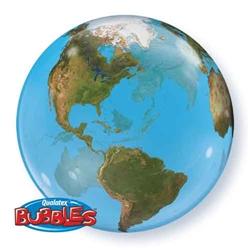 Bubble Balloon Earth World
