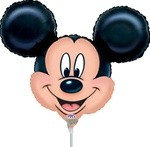 Small Foil Balloon Mickey Mouse