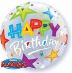 Bubble Balloon Happy Birthday
