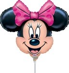 Small Foil Balloon Minnie Mouse