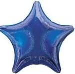 Small Foil Balloon Purple Star