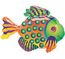 Small Foil Balloon Fish