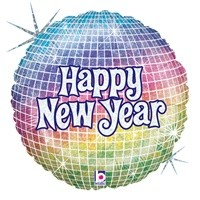 "18"" Foil Balloon Happy New Year"