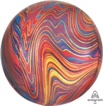 Orbz Red Marble Balloon