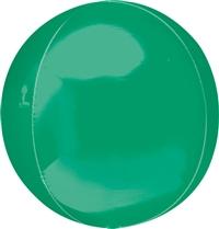 Orbs Green Balloon