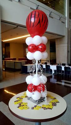 Air-Filled Balloon Centerpiece