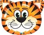 Small Foil Balloon Tiger