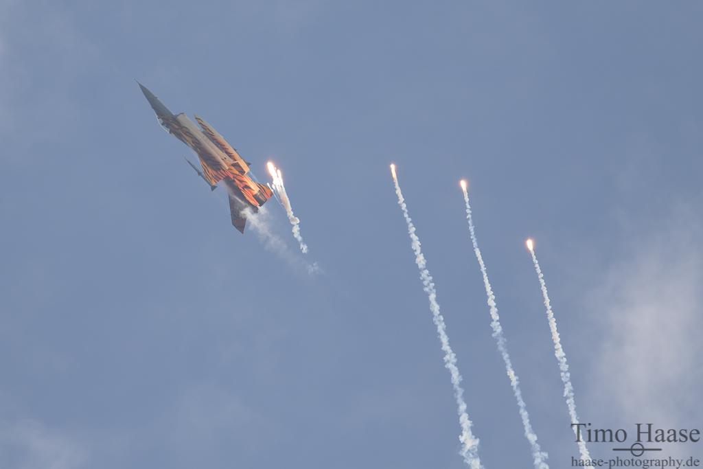 Nato Tiger Solodisplay belgische Luftwaffe
