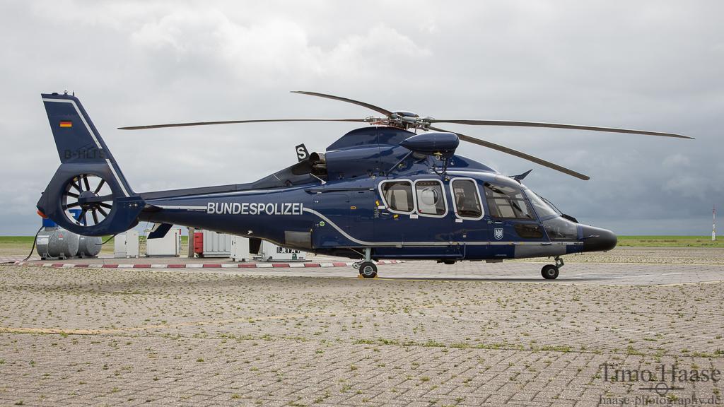 01.09.15 Eurocopter EC-155 Dauphin ( D-HLTS ) der Bundespolizei