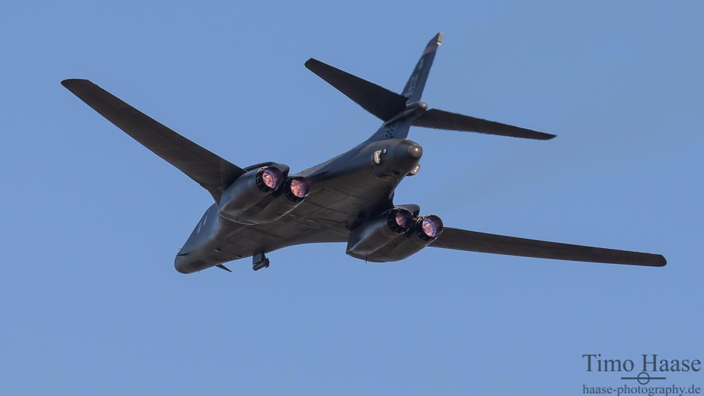 B-1B Lancer aus Dyess. 489th BG/CC  AF 85-0089