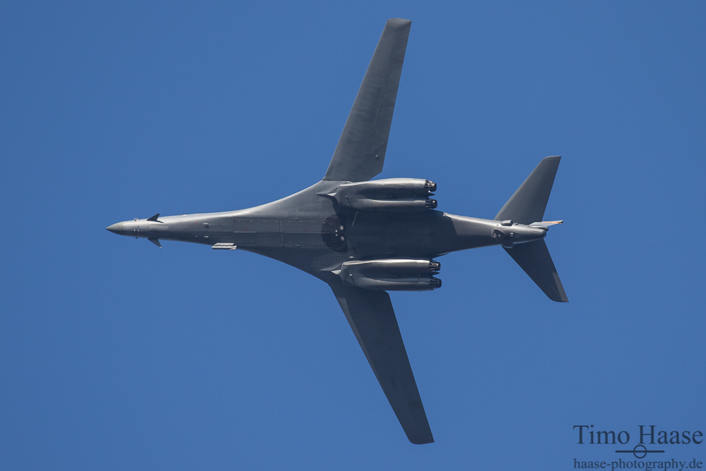 B-1B aus Dyess. 489th BG/CC  AF 85-0089