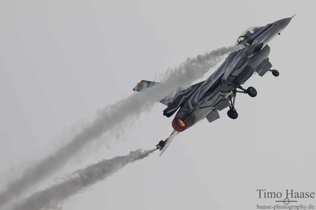 F-16MLU Demoteam belgische Luftwaffe