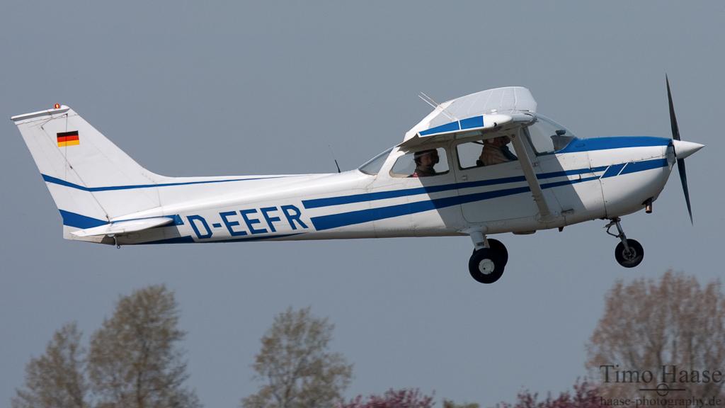 28.04.10 Reims-Cessna F172M Skyhawk ( D-EEFR ) der Motorfluggruppe WHV/FRI