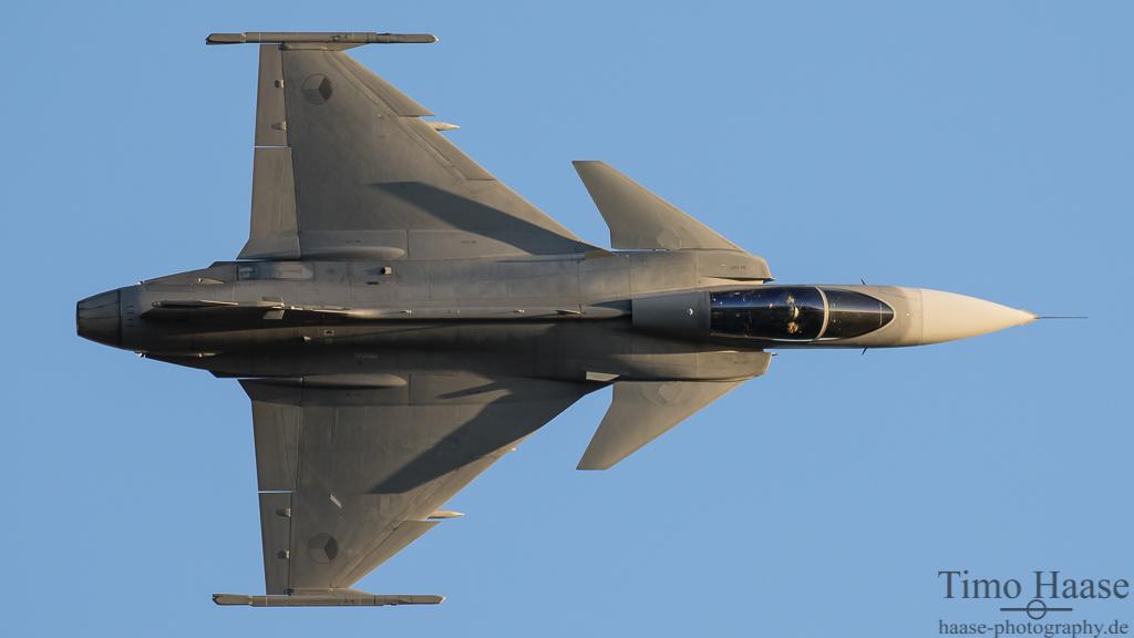 Saab JAS39C Gripen aus Tschechien. Hier die 9244.