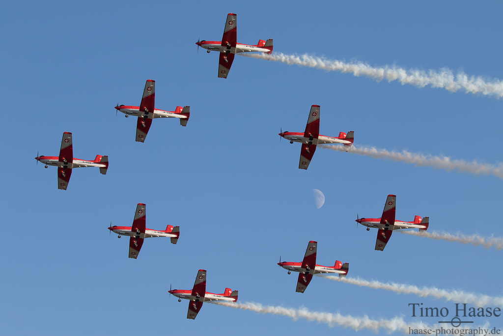 PC-7 Dispay Team Swiss Airforce