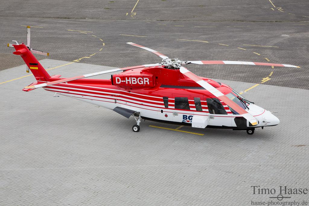 17.03.14 Sikorsky S-76B ( D-HBGR ) der Bundesanstalt für Geowissenschaften und Rohstoffe / BGR