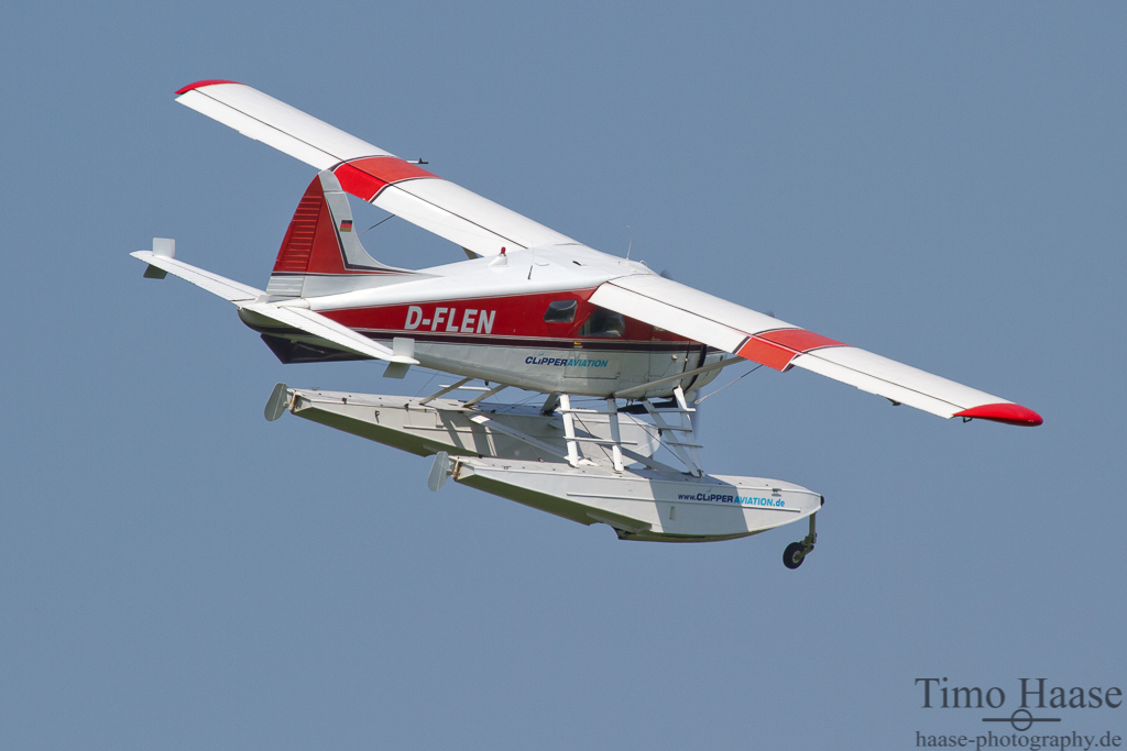 02.05.12 De Havilland Canada DHC-2 Beaver ( D-FLEN ) von Clipper Aviation