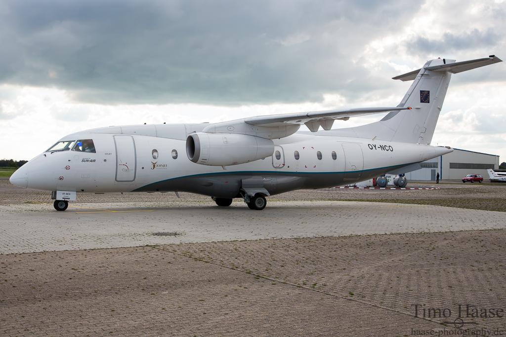 27.09.13 Dornier 328JET-310 ( OY-NCO ) der SunAir
