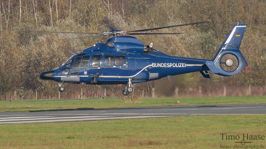 07.11.14 Eurocopter EC-155B1 Dauphin ( D-HLTS ) der Bundespolizei