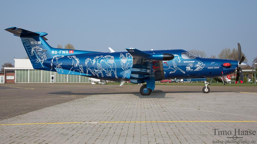 12.04.16 Pilatus PC-12/47E ( HB-FWA ) von Pilatus Aircraft