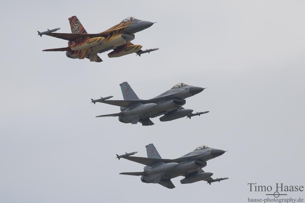 Nato Tiger Formation belgische Luftwaffe