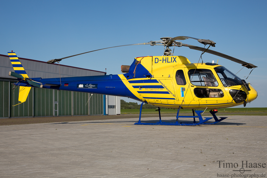 15.06.13 Aerospatiale AS-350 BA Ecureuil ( D-HLIX ) der Helix Flug