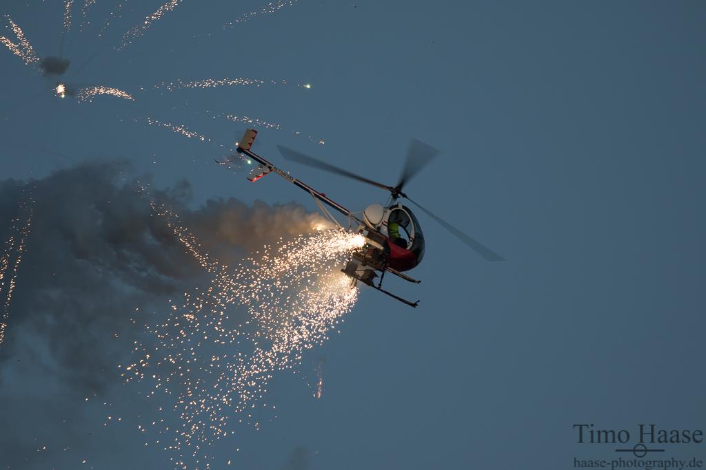 """""""OTTO"""" vom O'Brien's Flying Circus. Typ: Schweizer 300C"""
