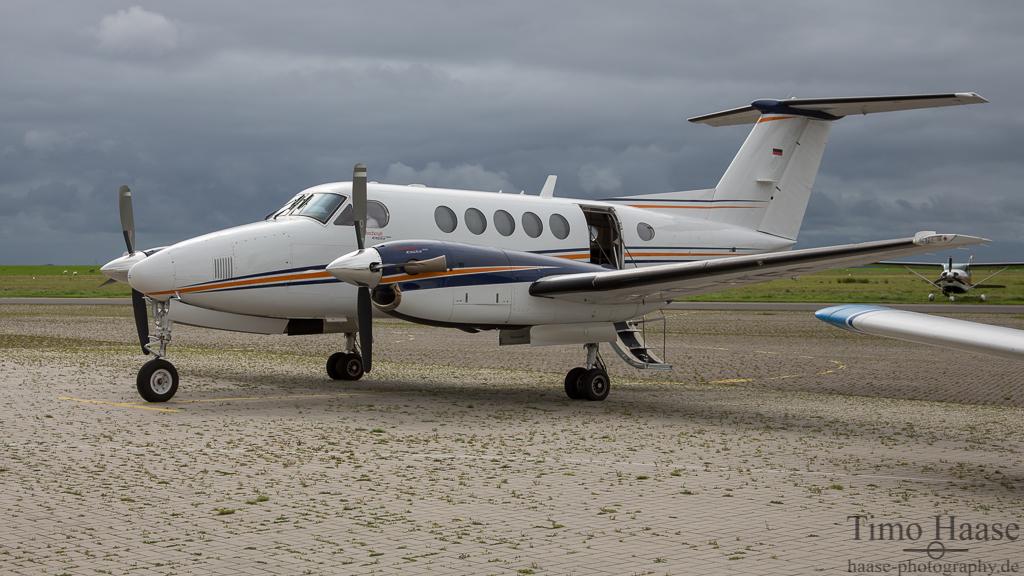 01.09.15 Beech B200 Super King Air ( D-ITFC ) der Reupke Airservice GmbH